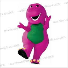 Wholesale barney Character costume Cartoon Costumes party mascot New Year Christmas Halloween MYY5710
