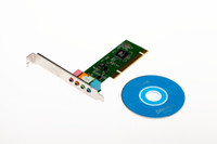 Wholesale PC Channel MIDI GAME port Surround D PCI Sound Audio Card for PC Windows SE XP