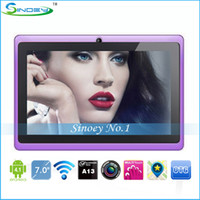 Wholesale Q88 inch Allwinner A13 Android Tablet PC Q8 cortex A8 GHz G D WiFi P E book