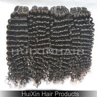 Cheap A:Unprocessed Virgin Cambodian Brazilian Malaysian Human Hair Weft Kinky Curly Hair Extensions 100% Human 6A Grade 30% OFF 3 packs lot Hair