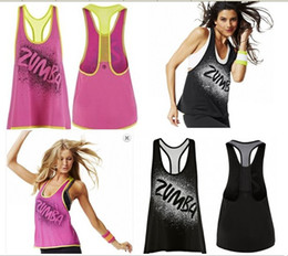 Wholesale Full Orbit recerback vest samba fitness dance tops