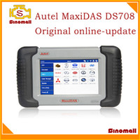 Wholesale 2013 Autel MaxiDAS DS708 Professional auto scanner online update Autel DS OBDII diagnostic tool