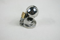 Wholesale 2013 Latest design super small and nice gourd head Male Chastity Art Device with non slip ring Cage Cock ring BDSM Sex Stoys