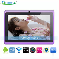 Wholesale Cheap inch A13 Q88 MID GB GHz Capacitive Superpad Tablet PC Android Laptop