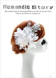 Wholesale High quality Stunning Pearl wedding bridal flora hair accessory head piece SW19