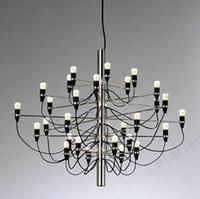 arteluce lamp - nimi114 Arteluce Gino Sarfatti designed Chandelier Pendant Droplight Bulbs Lamp Light Lighting For Living Room Hotel