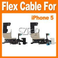 Wholesale Charging Charger Dock Connector Port Flex Cable For APPLE iPhone