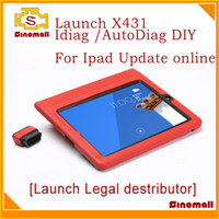 Code Reader obd2 scanner launch - 2014 Launch X431 AutoDiag idiag easy diag X431 Auto Diag for IPAD OBD diagnostic scanner update online OBD2 code reader