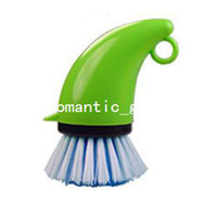 Toilet Foam Kitchen Pot pot degreasing brush household cleaning brush pot dish bowl cup plastic brush cleaning equipment