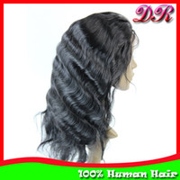 Wholesale 10 quot quot Lace Front Wigs Brazilian Remy Hair B Body Wave Human Hair Glueless Lace wigs Hand tied wigs