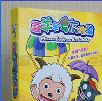 Wholesale New hot selling Chinese Cartoon Pleasant Goat and Grey Wolf DVD the Complete Box Set US Version Brand New