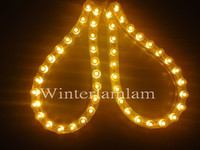 Cheap PVC 2 x 24cm Yellow 24 LED Car Light Flexible strip 12v 2pcs new car trim