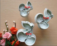 Wholesale Cherry shape mold sugar Arts set Fondant Cake tools cookie cutters