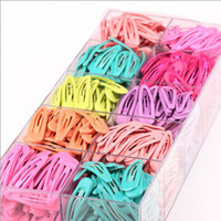 Wholesale Children s hair accessories drip oil small ice cream color children s baby BB hairpin cm