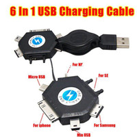 Wholesale Retractable USB Charging Cable amp In USB Data Cable