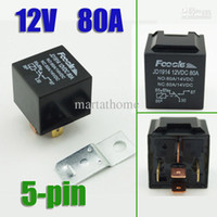 Subminiature   Free Shipping 10PCS lot 12V DC 70 80A 5-pin Automotive Auto Relays car relay # 10197 Small appliances relay