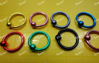 Bijoux en gros lots en vrac Labret Lip Body Pierce Nipple Navel Belly Sourcils Bar Bagues LR336 Livraison gratuite