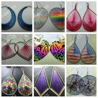 Wholesale Fashion Earrings DIY Man Made Line Womens Earring Random Style Whole Jewelry LR187
