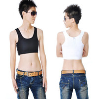 Wholesale Casual Breathable Buckle Short Chest Breast Binder Trans Lesbian Tomboy