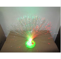 Wholesale Optical fiber flowers Mantianxing fiber optic flash flower flashing colorful flower color good quality LED16