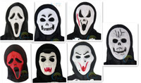 zombie - Halloween spoof scary face masks zombies screaming mask