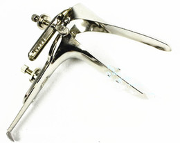 Wholesale Vaginal Speculum Scope Vagina Inspecting Endoscope Enlargement Gear Gadgets Adult BDSM SM Game Sex Products Toys Accessories