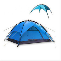 Wholesale Outdoor products camping tent double layer tent wild casual automatic tent