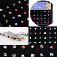 Wholesale New Body Jewelry Mixed Style Nose Ring Piercing Nose Studs NS11