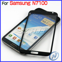 note 2 lcd screen - Gray Front Outer Screen Glass Lens Touch Screen LCD Digitizer Cover For Samsung Galaxy Note II N7100