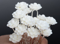 Wholesale 160PS Wedding Bridal Pearl Flower Crystal Hair Pins Clips Bridesmaid Styles Mix Hair Jewelry JH03001 JH03005