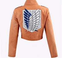 Wholesale New Japan Anime Costume Shingeki no Kyojin Attack on Titan Scouting Legion Cosplay Costume Jacket