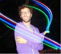 Wholesale Dance Rave Laser Finger Beams LED Optic Fiber Finger Beams