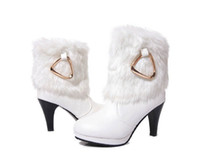 Ankle Boots Snow Boots Women 2013- new winter cotton shoes white princess waterproof cotton shoes with short boots ugg boots in the Martin boots