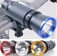 Wholesale 5w LED Mini Lumen Flashlight Torch Bike Bicycle Front Head Light Super Bright Bike Rear Light New