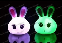 Wholesale LLFA2147 NEW Light Multi Color Change LED Mood Lamp Night Baby Sleeping Home Deco