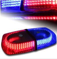 Wholesale Emergency Hazard Warning LEDs Mini bar Strobe Light w Magnetic Base DC V Blue Red Yellow White Amber High Quality
