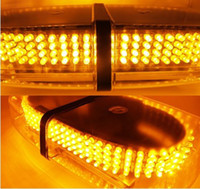 Wholesale Emergency Hazard Warning LEDs Mini bar Strobe Light w Magnetic Base DC V Yellow Amber High Quality