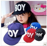 Wholesale Child smart casual pure colors ball hat visor hat girl hat child colors hat
