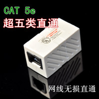 Wholesale High quality cat e rj45 end to end connector utp ethernet cable connector