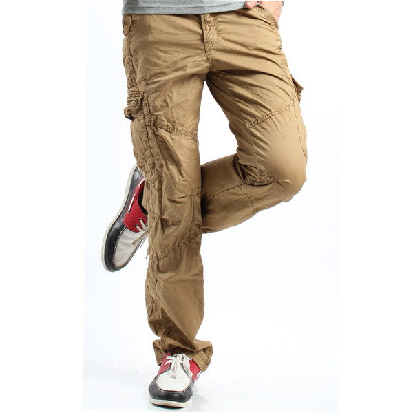 Khaki Cargo Pants Men Men 39 s Khaki Cargo Pants