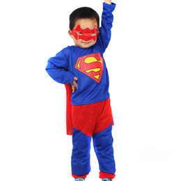 Wholesale Boys Children Kids Deluxe Superhero Superman Costume Accesories