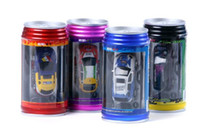 Wholesale drop shipping COKE CAN mini rc car high speed remote control car