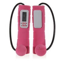 Wholesale Lowest Price Wireless Cordless Digital Calorie Counter Jump Rope Skipping Fitness GYM Pink