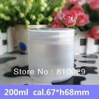 Wholesale ml Frosting Jar PET Jar with PP Cap g Mask Container Plastic Cream Jar Lotion Bottle