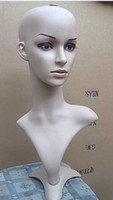 Wholesale Female Mannequin Head For Wig Hat Jewelry Display