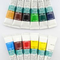 acrylic paint surfaces - New Brand supernova Sale Multi surface D Paint Nail Art Decorations Colors ml Acrylic Painting Pigment Fountain Pen Paints P003