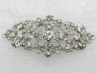 Cheap Clip & Pin flower crown Best Silk Flower Rhinestone hair clips