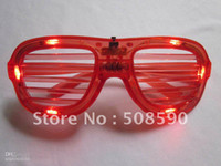 Wholesale modes LED Glasses flashing blind glasses Light led Shutter Glasses for C