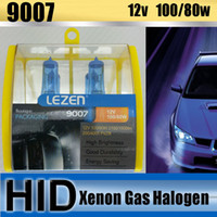 Wholesale 9007 Xenon Gas Halogen High Low Beam Fog Headlight Bulb Anti Vibration K BA