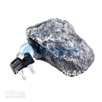 Wholesale New Rock Hide A Key Holder Stone Safe Hidden Outdoor Look Muddy Mud Spare House